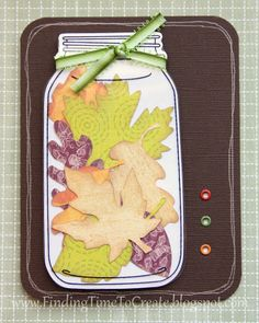 Finding Time to Create: Fall Cards #Silhouette