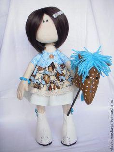 """Muñecas de colección hechos a mano. Masters Fair - hecho a mano muñeca """"fantástico"""". Hecho a mano."""