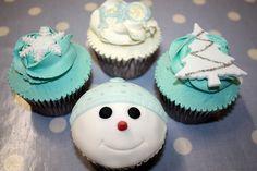 Cristmas cupcakes sweet