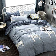 #2017_new_design #100%_cotton #unicorn_print #children_bedding_set 4pcs/set Cotton Bedding Set Duvet Cover Flat Sheet Pillow... https://www.amazon.com/dp/B071Y5W25C/ref=cm_sw_r_pi_dp_x_6eT-yb5NBRFW1