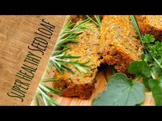 'Seed & Carrot Roast Loaf' – gluten-free, vegan (with video) – Trinity's Conscious Kitchen