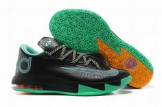 """cheap for discount bf6a0 559af Find Nike Kevin Durant KD 6 VI """"Night Vision"""" For Sale 2014 New Release  online or in Pumaslides. Shop Top Brands and the latest styles Nike Kevin  Durant KD ..."""