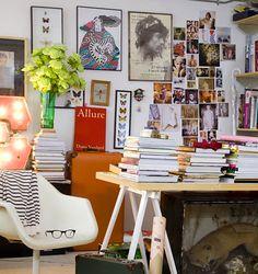 The Creative Space of London Fashion Designer Erdem