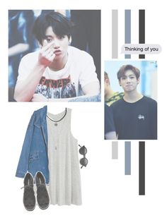 """""""Jeon JungKook"""" by lazy-alien ❤ liked on Polyvore featuring H&M, Forever 21, bts, jungkook and jeonjungkook"""