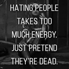 I don't hate people period. I forgive them, but after that I will straight up choose to forget they exist. #INFJ door slam bitches