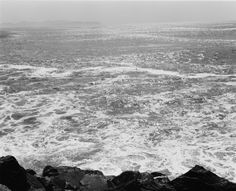Robert Adams: West From The Columbia - South from the South Jetty, Clatsop County, Oregon, 1991, gelatin-silver print