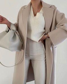 Big Fashion, Winter Fashion Outfits, Fashion Looks, Womens Fashion, Fashion Trends, Fashion Spring, Spring Outfits, Style Fashion, Classic Fashion