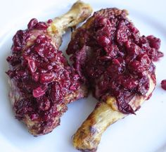 Beyond the Bite: Paleo Cranberry Red Wine Braised Chicken (AIP-friendly)