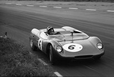 The Autosport 3 Hours Race at Snetterton, 1962: Jim Clark in a Lotus 23 that failed to finish the race.