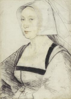 An unidentified woman, c.1526-8, by Hans Holbein the Younger