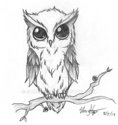 Owl Tattoo RQ by ShadaHazen.deviantart.com on @DeviantArt