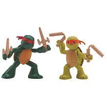 Teenage Mutant Nija Turtles Basic Figure - Two pack Raphael