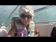Amazing 91 year old who slalom water skies daily.  Inspiring!
