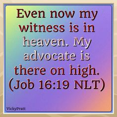 Job 16:19