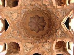 Qubba Barudiyyin de Marrackech (construida en 1120 por Alí ibn Yusuf ). Vista general de la cúpula. -4.