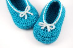 Hey, I found this really awesome Etsy listing at https://www.etsy.com/listing/195384978/crochet-ballet-slippers-with-bows-bright