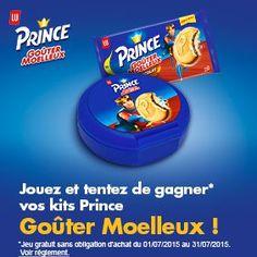 Jouez et tentez de gagner vos kits Prince Goûter Moelleux ! - Ma vie en couleurs