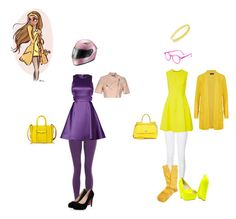 """Disney: Honey Lemon"" by oscappa ❤ liked on Polyvore featuring M&S Collection, New Look, Lela Rose, Brooks Brothers, Dolce&Gabbana, See Concept, France Luxe, LIU•JO, Cynthia Rowley and Rebecca Minkoff"