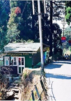 Stimulating Cafe on the road down from Nightingale Park. Darjeeling, India.