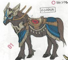 Fire Emblem: Awakening Concepts - Dark Pegasus