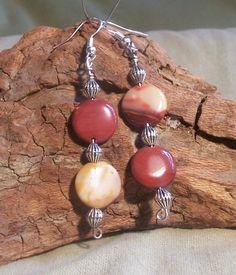 Mookaite Jasper earrings dangle earrings