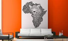 Vinilo decorativo Africa Tigre