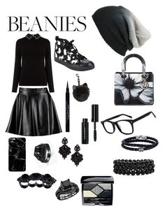 """Beanie"" by giulia-ostara-re ❤ liked on Polyvore featuring BP., Boohoo, Christian Dior, Tasha, Dsquared2, Phillip Gavriel, Bling Jewelry, Givenchy and Bobbi Brown Cosmetics"