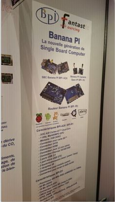 Fantastic Sourcing Show Banana PI series Product on INDUSTRIA Exhibition   Good News!  Fantastic Sourcing-- Banana PI Agent in France, Shown Banana PI, BPI-D1, BPI-R1 and Series accessories on the INDUSTRIA Exhibition. Banana PI series product very hot on the Exhibition. Many people like these three kinds powerful products. Thanks Fantastic Sourcing's effort, and congratulation that have got great success on the Exhibition!  Now, Let's see the scene!!