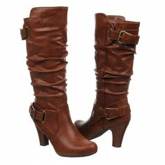 Madden Girl - Posch Cognac boots from Famous Footwear. Just got theses and love them!