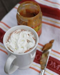 Peanut Butter Hot Chocolate? Peanut butter makes everything better!