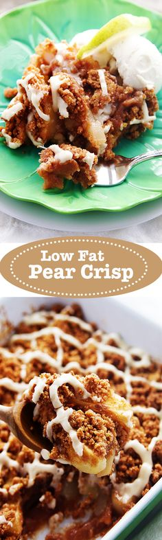 ... butter pear crisp recipe pear crisp recipe two peas their pear crisps