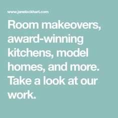Room makeovers, award-winning kitchens, model homes, and more. Take a look at our work. Room Makeovers, Model Homes, Hgtv, Kitchens, Rooms, 3d, Bedrooms, Kitchen, Cuisine