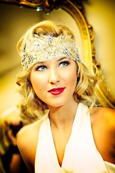"""I want to have a """"Gatsby"""" party! maybe for New Years...gatsby 20s hair styles 