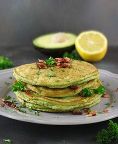 Jump to Recipe Print RecipeCreamy avocado, savory bacon, fresh parsley, and a hint of tart lemon make these gluten-free Avocado & Bacon Pancakes a meal that will satisfy all your senses – and are perfect for a fall evening or a cool & crisp fall morning. Sugar, I LOVE it, and I hate that I...