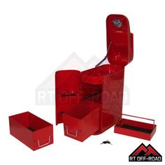 Jerry can Trail can Tool storage box Jeep Land Rover Suzuki Toyota Land Rover Overland, Jerry Can, Jeep 4x4, Tool Storage, Fun Stuff, Toyota, Trail, Canning, Box