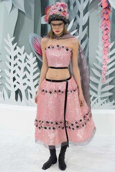 Chanel Spring 2015 Couture Fashion Show - Alexandra Elizabeth (Elite)