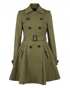 This Full Skirted Trench is fab!!! Also way outta my price range haha ;)