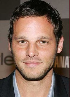 Justin Chambers, I'm obsessed with his whole being. Greys Anatomy Alex Karev, Justin Chambers, Chris Meloni, Larry Hagman, Larry David, Eric Dane, Neil Patrick Harris, Tom Selleck, Hugh Laurie