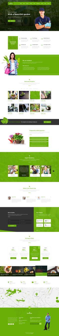 Click Pixel (ClickPixel) on Pinterest on garden park logos, garden club logos, garden logos design, garden nursery logos,