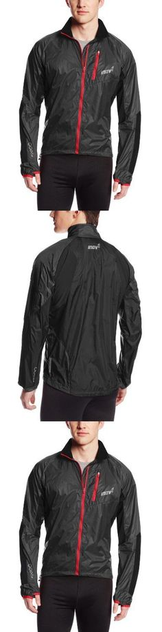 Jackets and Vests 59353: Inov-8 Men S Race Elite 105 Windshell Jacket Black Red Large, New -> BUY IT NOW ONLY: $123.1 on eBay!
