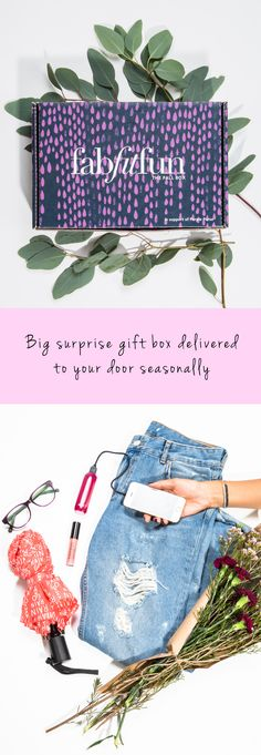 The best of this season's beauty, fashion, and fitness finds delivered to your door. Free shipping. All products are premium, full-size, and curated by our amazing team to make your life easier and more fab. All boxes ship for free within the continental US!