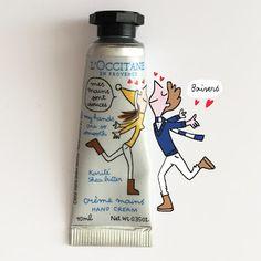 things i like ~lisa. Occitane En Provence, Hand Cream, Bar Soap, Water Bottle, Lisa, Instagram, Natural Design, Illustration, Cream