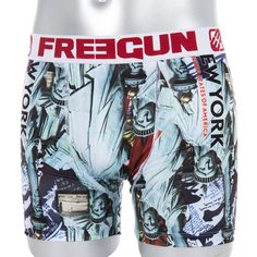 Freegun Boxer Homme Liberty Men's Underwear Fashion Boxer Briefs #Freegun #BoxerBrief