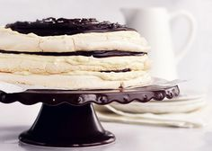"""Marscapone Merangue Cake our cafe """"Seddon Deadly Sins"""" made"""