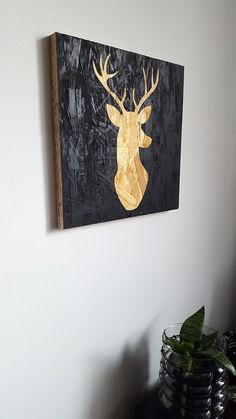 Osb Wood, Wood Pallets, Wood Art, Chipboard Interior, Painted Osb, Wood Floor Finishes, Industrial Interior Design, Gold Paper, Carnitas