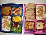 The Lunch Box Project - students from across the globe send in photos of what they eat for lunch