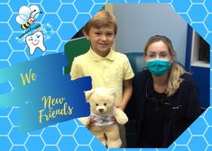 Dr. Barnes loved meeting our new friend at Pediatric Dental Care! #happyteeth, #drbuzz, #pediatricdentistry, #healthyteeth Pediatric Dentist, Healthy Teeth, Dental Care, Pediatrics, New Friends, Teen, Children, Young Children, Boys
