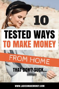 10 Make money from home ideas that you can use to make extra money fast.If you are looking for ways to make extra cash fast on the side,then click over to learn more on how to achieve your goals.We have great tips for you on how to make money online fast Earn Money From Home, Make Money Fast, Make Money Blogging, Money Tips, Money Hacks, Earning Money, Earn Money Online Fast, Money Plan, Money Saving Mom