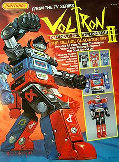Voltron II. I don't remember this one at all. Looks pretty lame anyway.