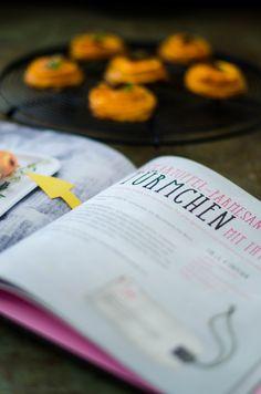 Buch Rezension - Lisbeths Krimiknabbereien - Süßkartoffeltürmchen mit Cheddar und Trüffel von den [Foodistas]